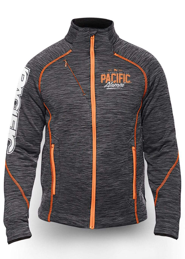 University of the Pacific Tigers Frenzy Track Jacket: Pacific Alumni by Zeus Collegiate