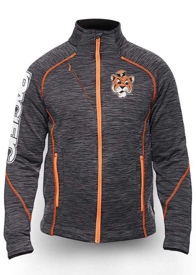 University of the Pacific Tigers Frenzy Track Jacket: Tommy Tiger by Zeus Collegiate