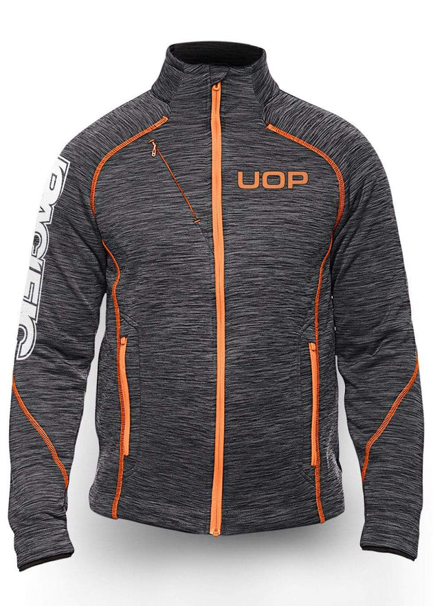 University of the Pacific Tigers Frenzy Track Jacket: UOP by Zeus Collegiate