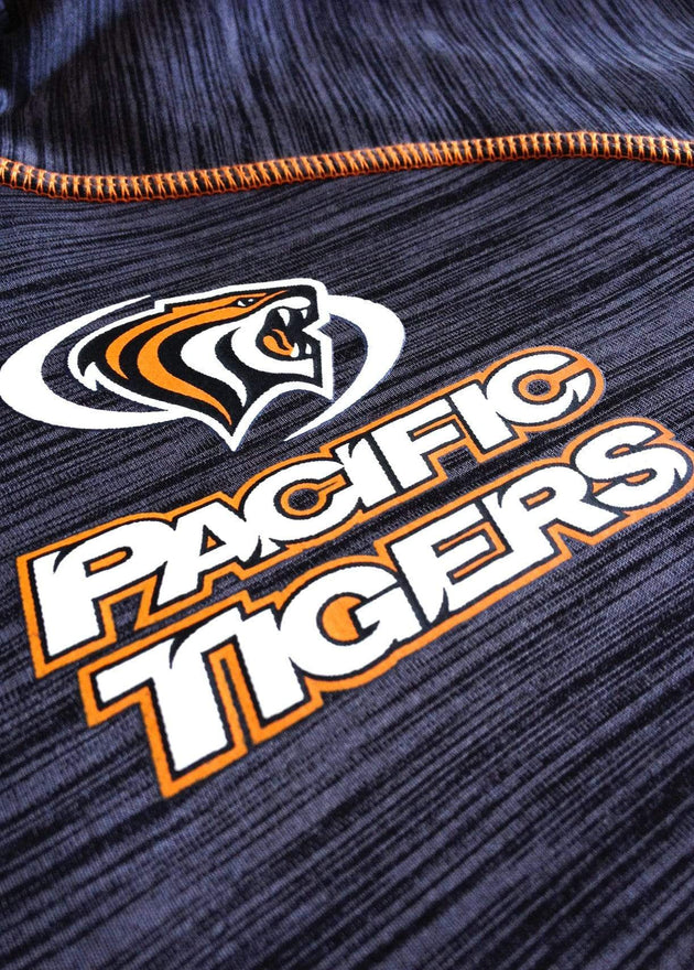 University of the Pacific Tigers Frenzy Track Jacket by Zeus Collegiate