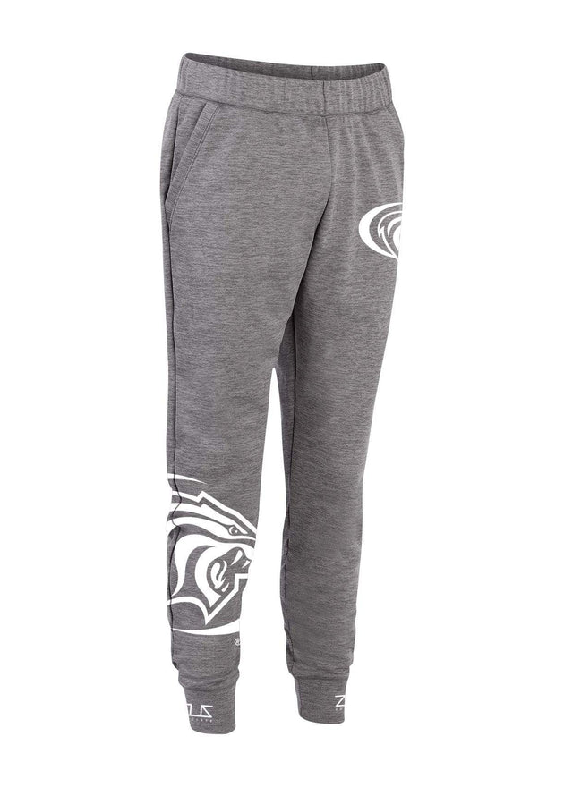 University of the Pacific Tigers High Key Fleece Jogger Sweatpants by Zeus Collegiate
