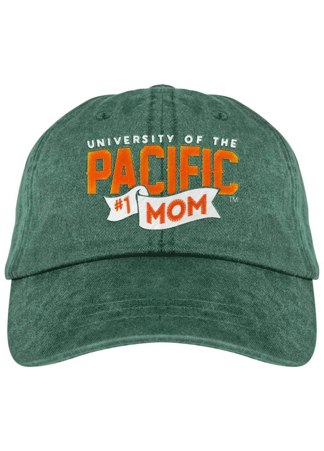 University of the Pacific Tigers Pacific #1 Mom Fadeaway Cap Hat by Zeus Collegiate