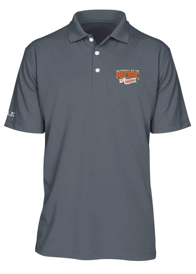 University of the Pacific Tigers Pacific #1 Mom Performance Polo Shirt by Zeus Collegiate