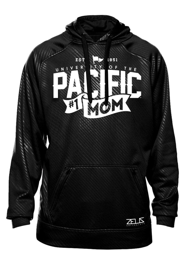 University of the Pacific Tigers Pacific #1 Mom Poly Fleece Hood by Zeus Collegiate