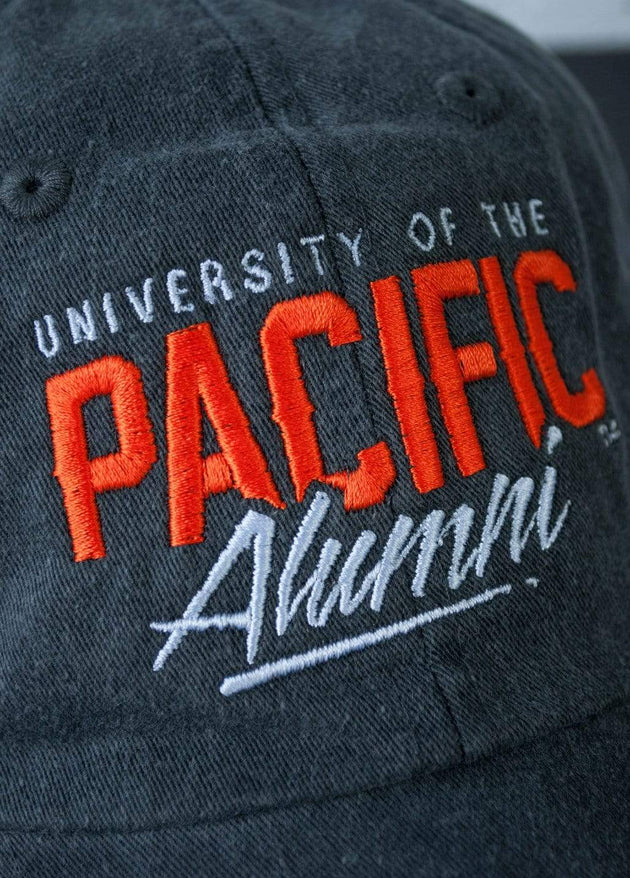 University of the Pacific Tigers Pacific Alumni Fierce Fadeaway Cap Hat by Zeus Collegiate