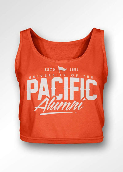 University of the Pacific Tigers Pacific Alumni Series: Fierce Boxy Tank Top by Zeus Collegiate