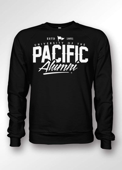 University of the Pacific Tigers Pacific Alumni Crewneck Sweatshirt by Zeus Collegiate