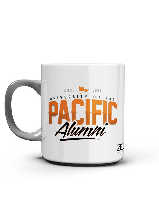 University of the Pacific Tigers Pacific Alumni Series: Fierce Mug by Zeus Collegiate