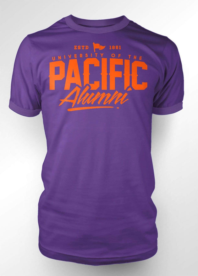 University of the Pacific Tigers Pacific Alumni Series: Fierce T-shirt by Zeus Collegiate