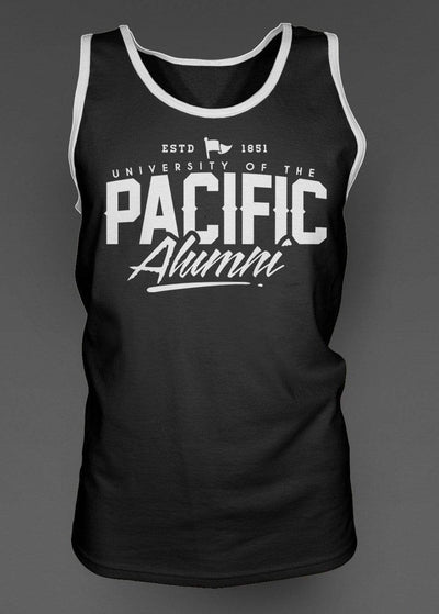 University of the Pacific Tigers Pacific Alumni Series: Fierce Tank Top by Zeus Collegiate