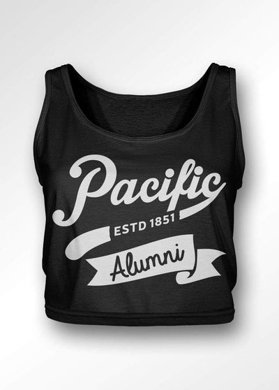 University of the Pacific Tigers Pacific Alumni Series: Spirit Boxy Tank Top by Zeus Collegiate