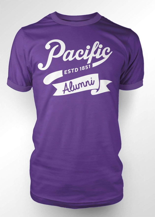 University of the Pacific Tigers Pacific Alumni Series: Spirit T-shirt by Zeus Collegiate