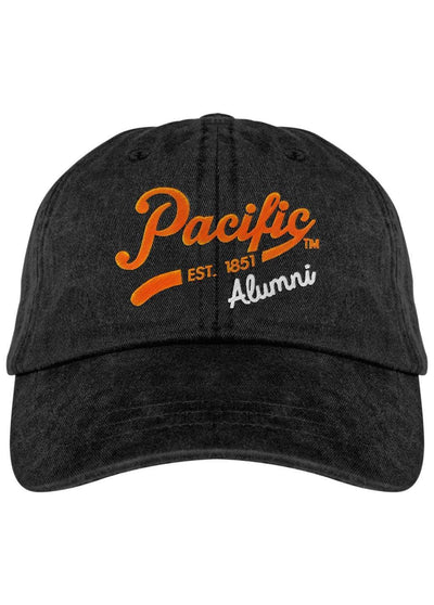 University of the Pacific Tigers Pacific Alumni Spirit Fadeaway Cap Hat by Zeus Collegiate
