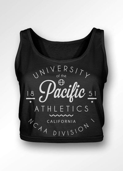 University of the Pacific Tigers Pacific Athletics Boxy Tank Top by Zeus Collegiate