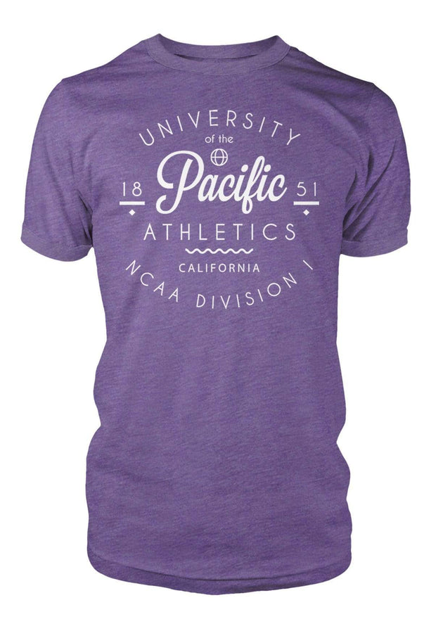 University of the Pacific Tigers Pacific Athletics California Series T-Shirt by Zeus Collegiate
