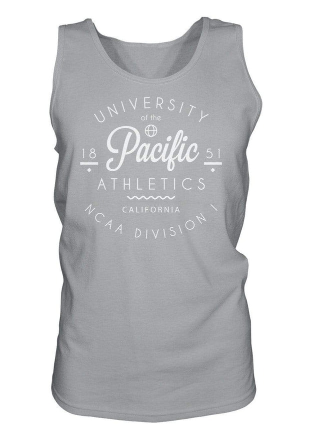 University of the Pacific Tigers Pacific Athletics California Series Tank Top by Zeus Collegiate