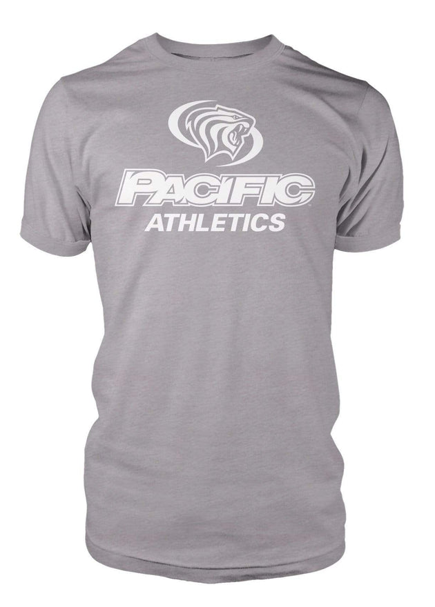 University of the Pacific Tigers Pacific Athletics Division I T-shirt by Zeus Collegiate