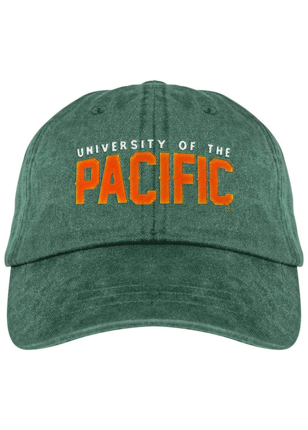 University of the Pacific Tigers Pacific Fierce Fadeaway Cap Hat by Zeus Collegiate