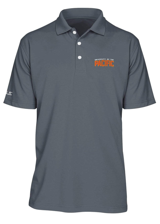 University of the Pacific Tigers Pacific Fierce Performance Polo Shirt by Zeus Collegiate
