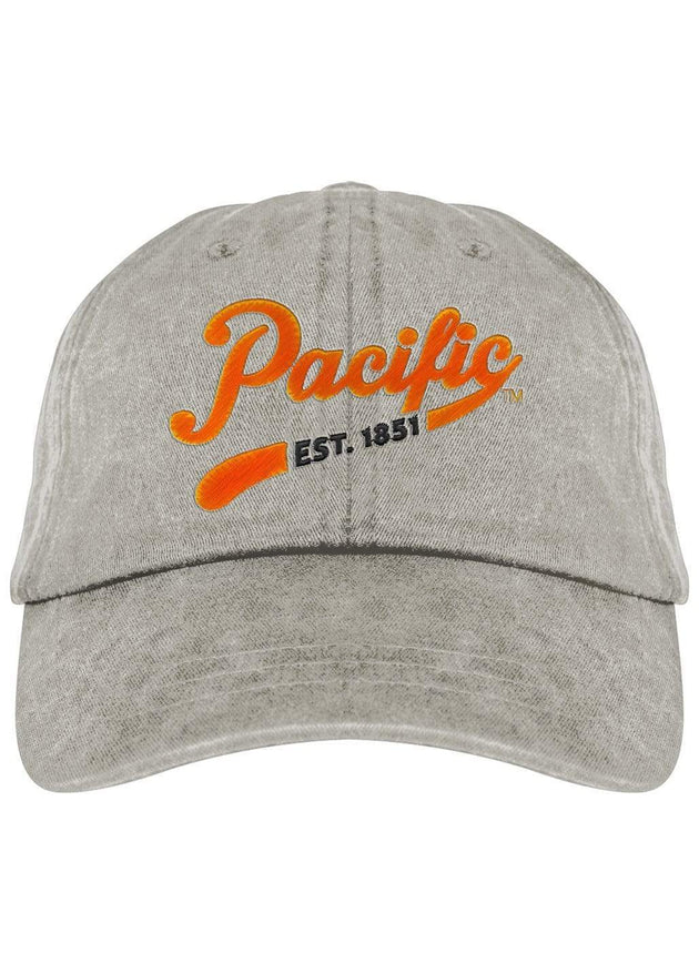 University of the Pacific Tigers Pacific Spirit Fadeaway Cap Hat by Zeus Collegiate