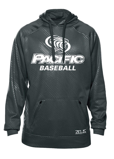University of the Pacific Tigers Baseball Division I Poly Fleece Hood by Zeus Collegiate