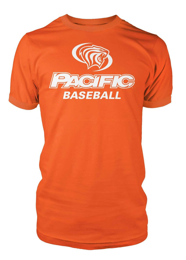 University of the Pacific Tigers Baseball Division I T-shirt by Zeus Collegiate
