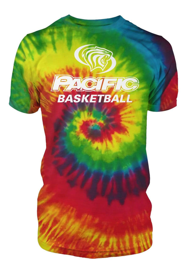 University of the Pacific Tigers Basketball Division I T-shirt by Zeus Collegiate