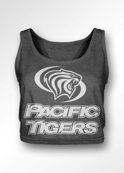 University of the Pacific Tigers Classic Series Boxy Tank Top by Zeus Collegiate