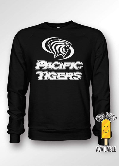 University of the Pacific Tigers Classic Series Crewneck Sweatshirt by Zeus Collegiate