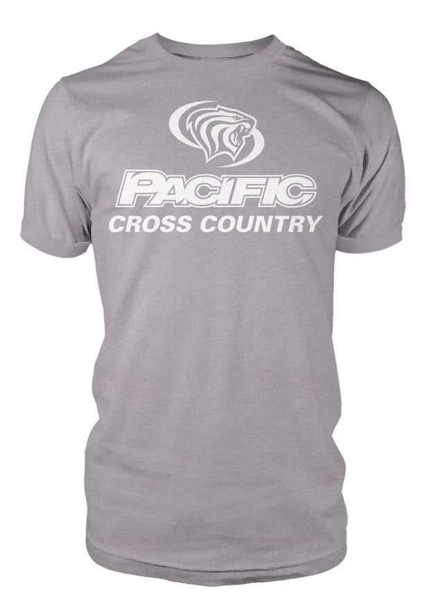 University of the Pacific Tigers Cross Country Division I T-shirt by Zeus Collegiate