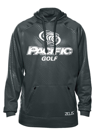 University of the Pacific Tigers Golf Division I Poly Fleece Hood by Zeus Collegiate