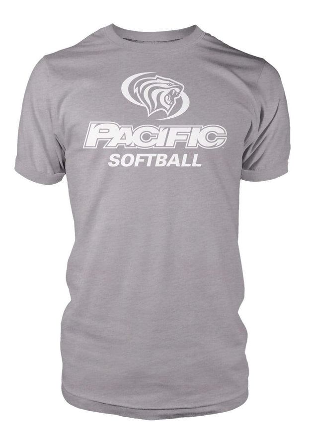 University of the Pacific Tigers Softball Division I T-shirt by Zeus Collegiate