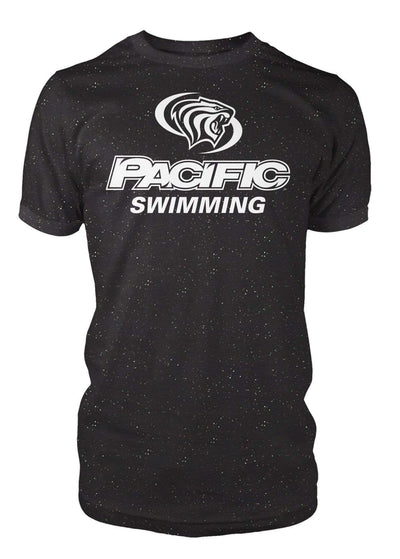 University of the Pacific Tigers Swimming Division I T-shirt by Zeus Collegiate