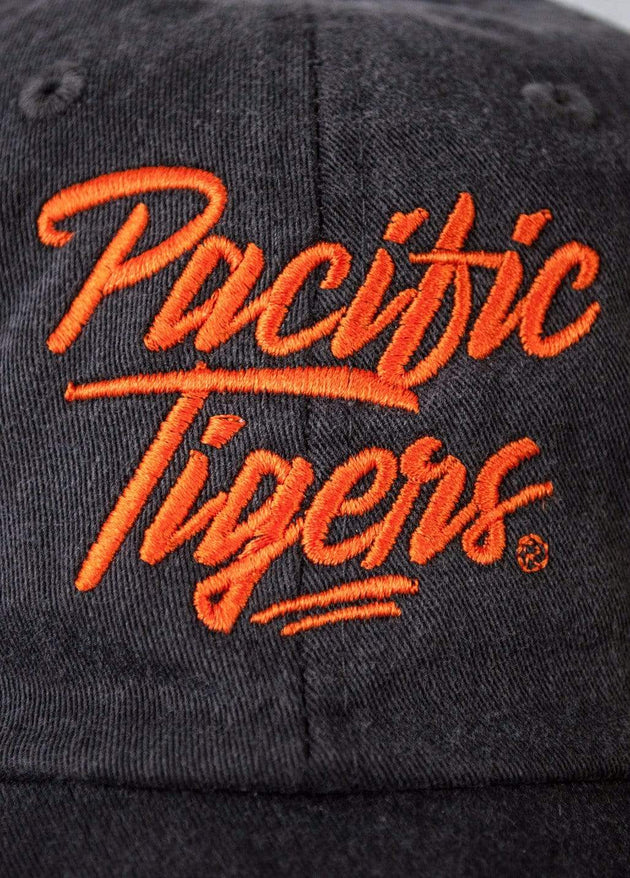 University of the Pacific Tigers Pacific Tigers Upper Echelon Fadeaway Cap Hat by Zeus Collegiate