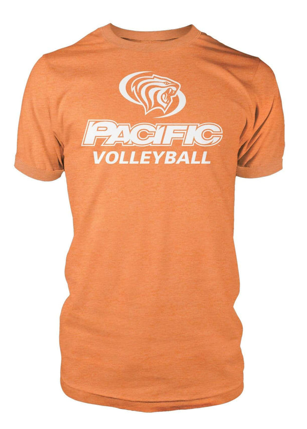 University of the Pacific Tigers Volleyball Division I T-shirt by Zeus Collegiate