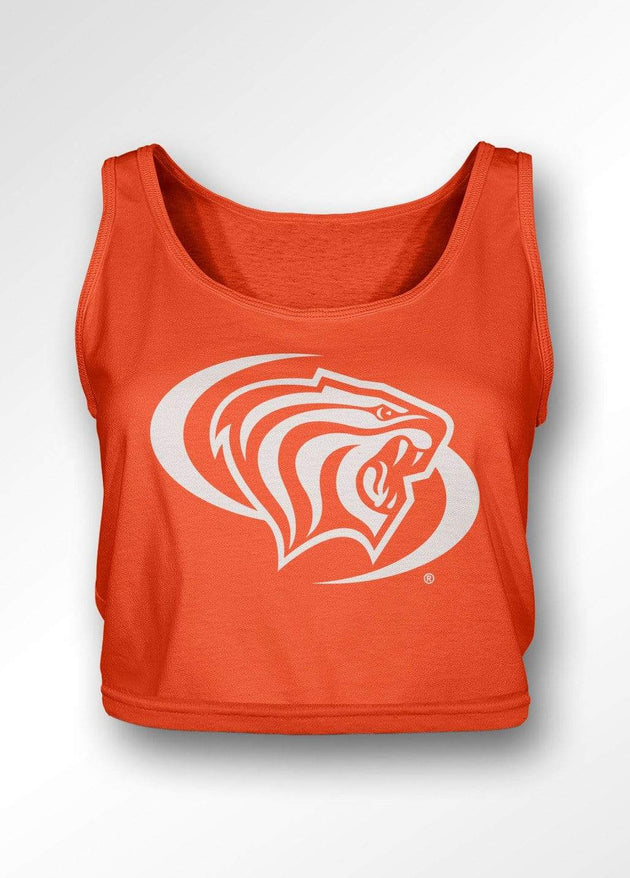 University of the Pacific Tigers Powercat Classic Series Boxy Tank Top by Zeus Collegiate