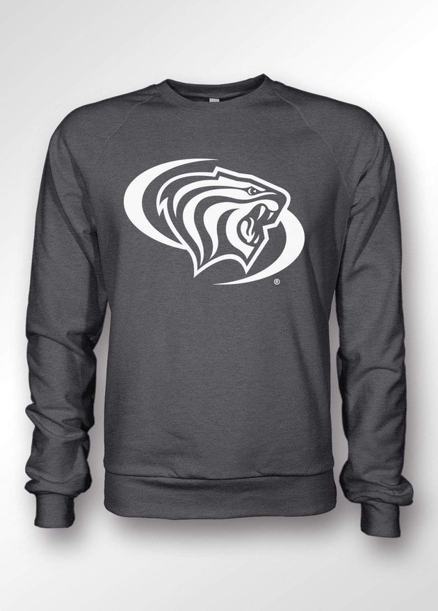 University of the Pacific Tigers Powercat Classic Series Crewneck Sweatshirt by Zeus Collegiate