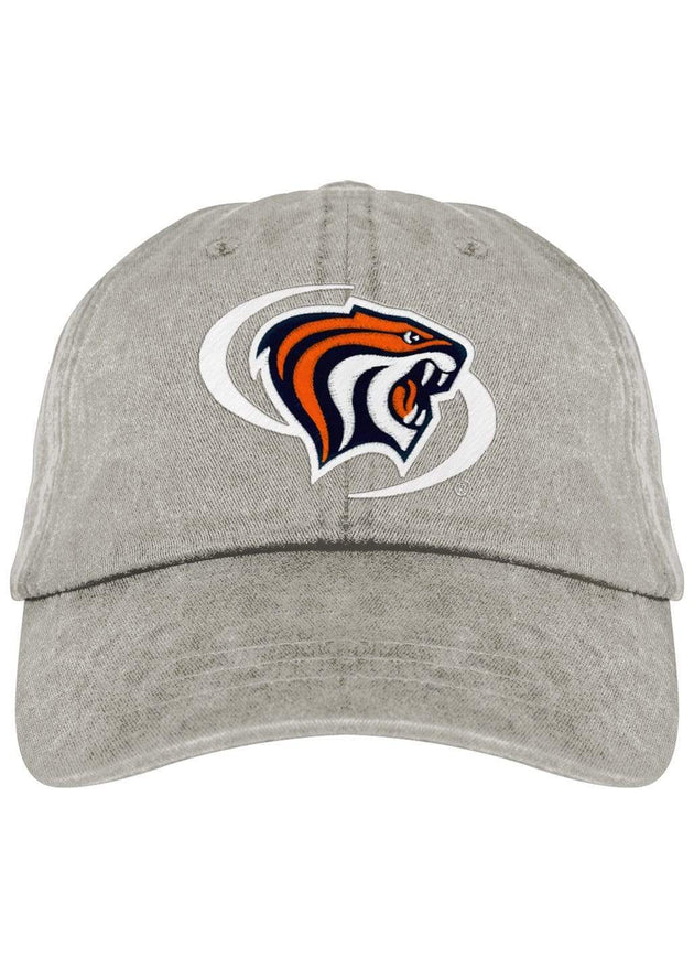 University of the Pacific Tigers Powercat Fadeaway Cap Hat by Zeus Collegiate