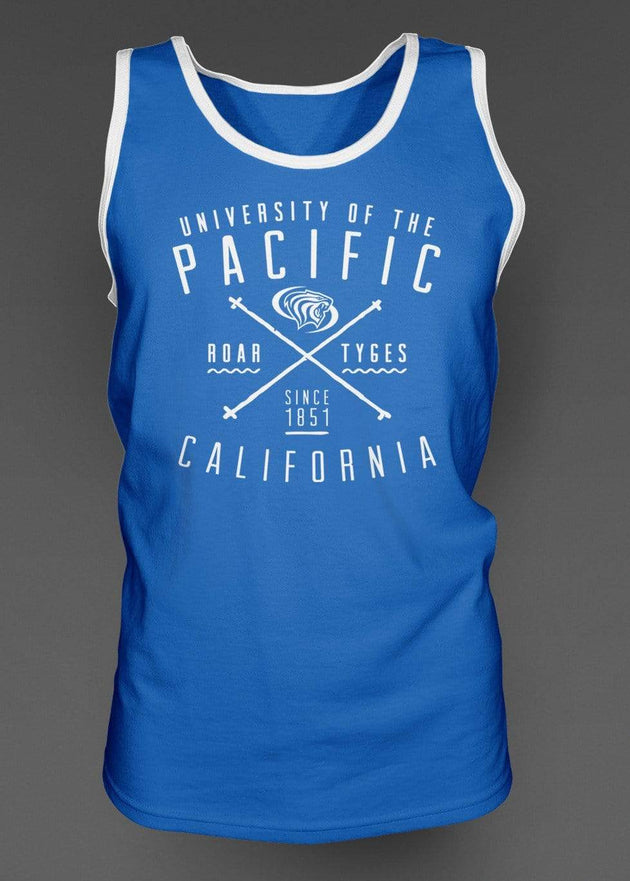 University of the Pacific Tigers Roar Tyges California Series Tank Top by Zeus Collegiate