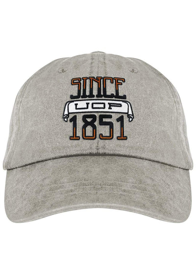 University of the Pacific Tigers Since 1851 Fadeaway Cap Hat by Zeus Collegiate