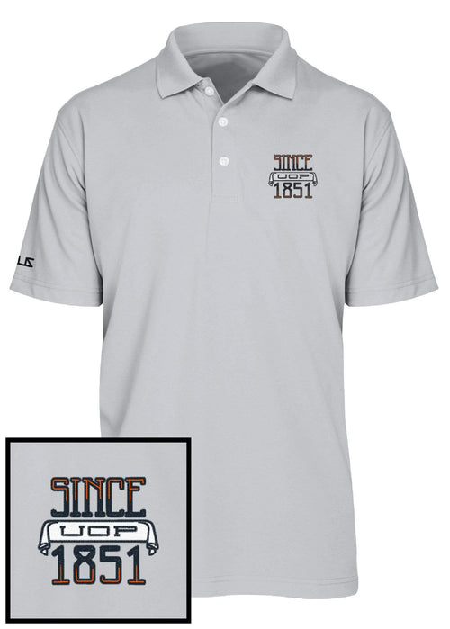 University of the Pacific Tigers Since 1851 Performance Polo Shirt by Zeus Collegiate