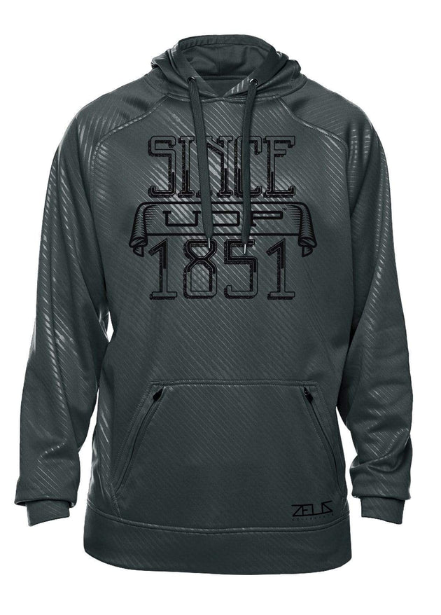 University of the Pacific Tigers Since 1851 Poly Fleece Hood by Zeus Collegiate