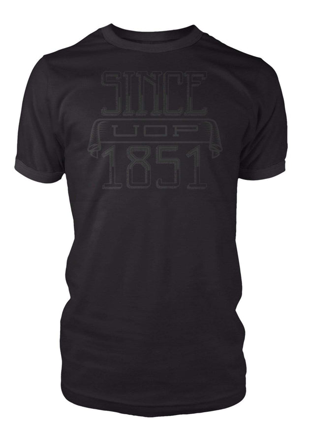 University of the Pacific Tigers Since 1851 T-Shirt by Zeus Collegiate