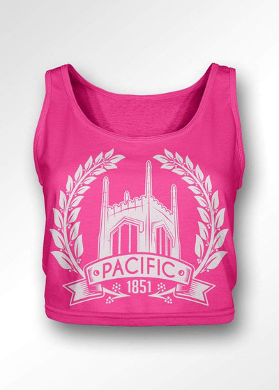 University of the Pacific Tigers The Ivy Boxy Tank Top by Zeus Collegiate