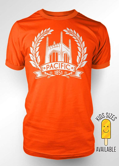 University of the Pacific Tigers The Ivy T-Shirt by Zeus Collegiate