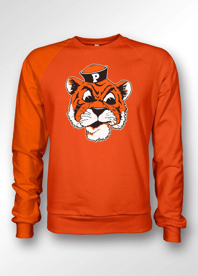 University of the Pacific Tigers Tommy Tiger Crewneck Sweatshirt by Zeus Collegiate