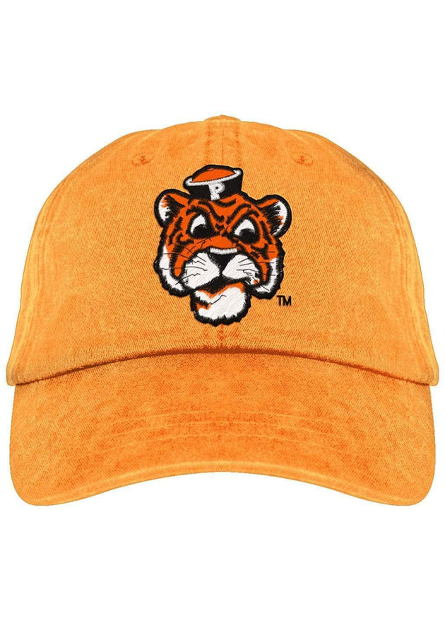 University of the Pacific Tigers Tommy Tiger Fadeaway Cap Hat by Zeus Collegiate