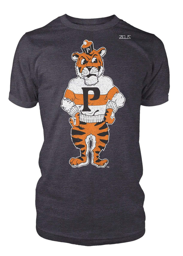 University of the Pacific Tigers Tommy Tiger Mascot T-Shirt by Zeus Collegiate