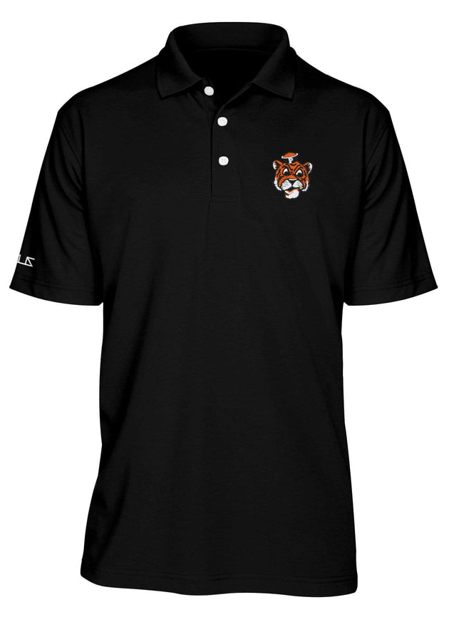 University of the Pacific Tigers Tommy Tiger Performance Polo Shirt by Zeus Collegiate
