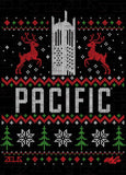 University of the Pacific Tigers Ugly Sweater: Burns Tower T-shirt by Zeus Collegiate